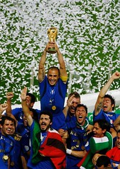 Approximately 715 million people watched Italy defeat France in the 2006 World Cup Final.
