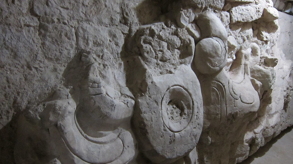 carvings inside