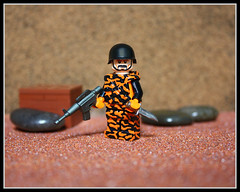 Tiger Team Commander (Geoshift) Tags: lego military specialforces moc customlego brickarms modernwarfare legomilitary legocustom legocustomminifig