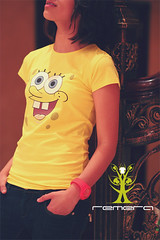 Sponge Bob For Women (Remera - [ QTR ]) Tags: model women bob sponge