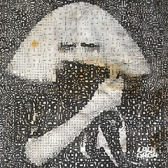 Lady Gaga in Lettering (Village9991) Tags: fashion monster lady mosaic famous itunes pop mp3 dresses singer record lettering ironic popular judas gaga aac pokerface bornthisway ladygaga badromance ladygagamosaic edgeofglory heavymetallover