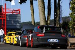 Porsche GT3 RS (simons.jasper) Tags: road color beautiful car racecar canon eos jasper belgium fast special porsche autos circuit spa rs simons supercars combo 997 50d specialcolor autogespot spotswagens francorschamps