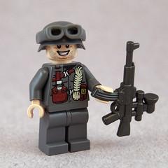 Vampir (Titolian) Tags: lego helmet carbine vampir luger stahlhelm brickarms