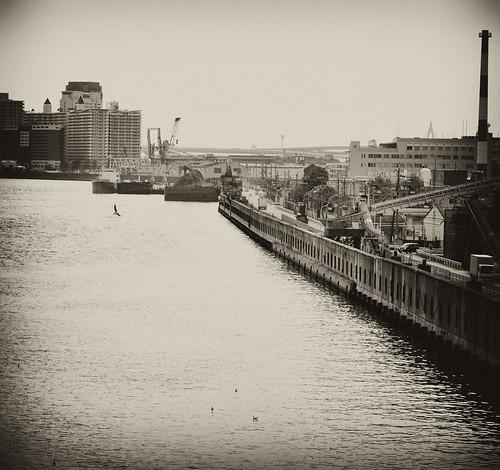 安治川 The river Aji