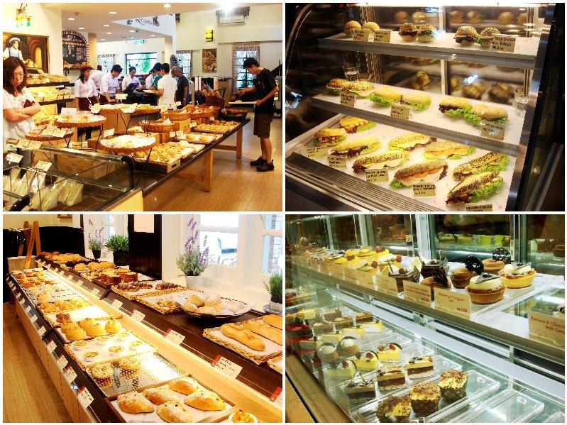 Levain Boulangerie cakes