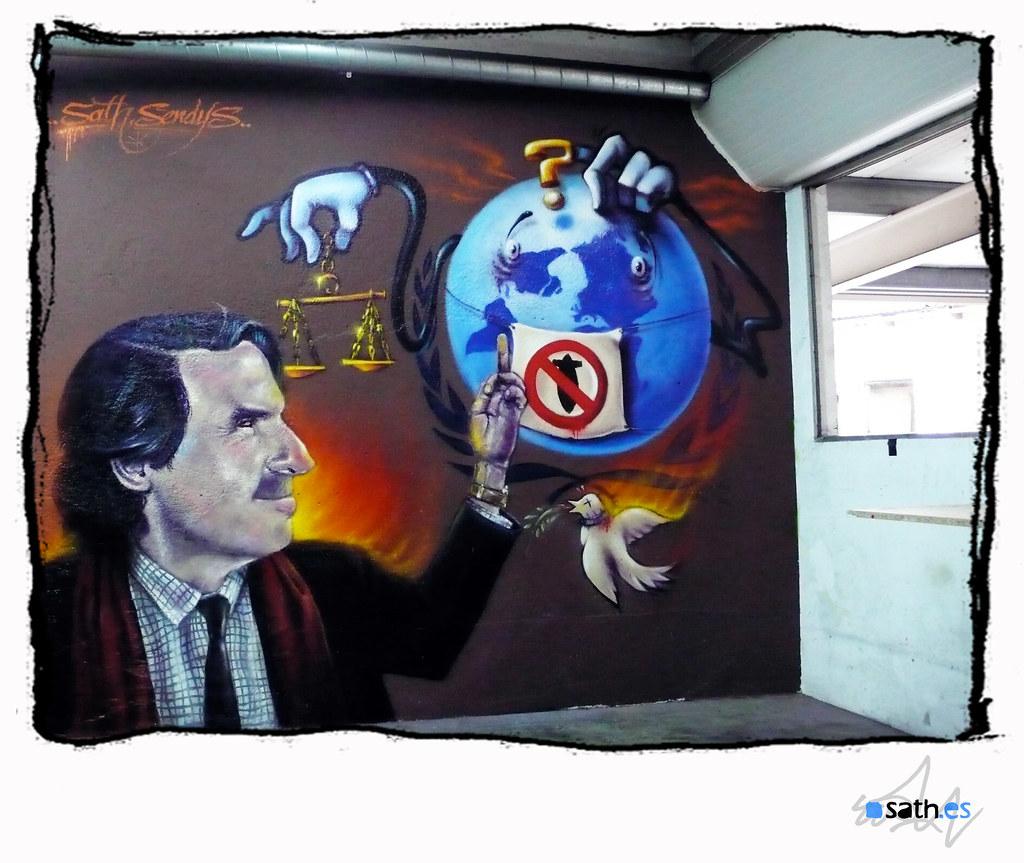Tags barcelona graffiti guerra paz spray mallorca mundo justicia