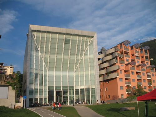 Das Museion für moderne Kunst in der Landeshauptstadt Bozen