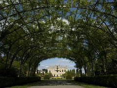 Brodsworth Hall (DaveKav) Tags: uk greatbritain england house gardens hall unitedkingdom yorkshire victorian tunnel olympus gb 1860s doncaster southyorkshire englishheritage e510 brodsworth brodsworthhall brodsworthgardens