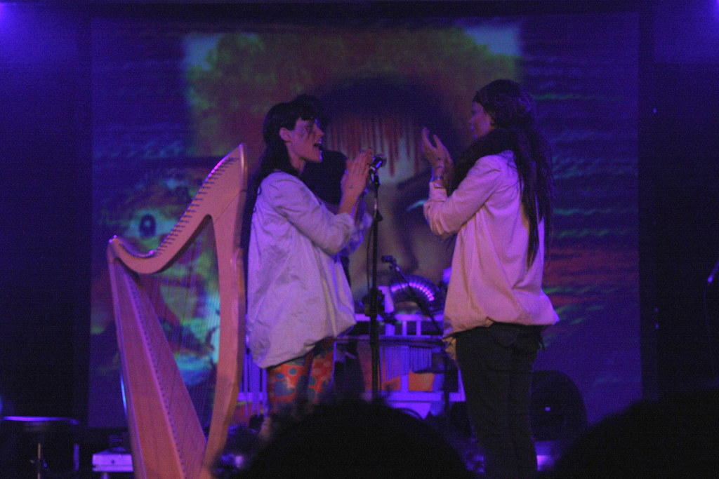 CocoRosie, the very last band of the weekend