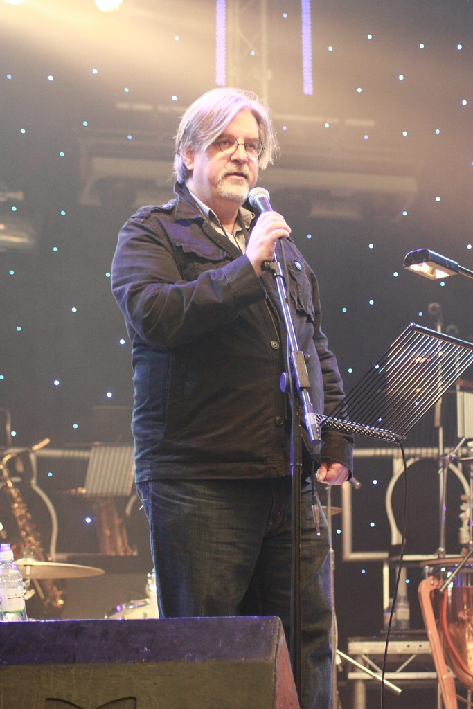Matt Groening introducing Daniel Johnston as his favourite songwriter