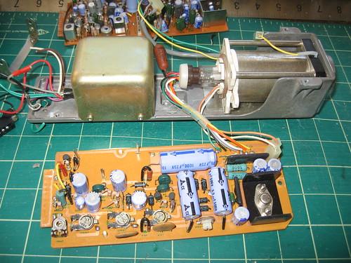 Panasonic WV-200 - Circuits