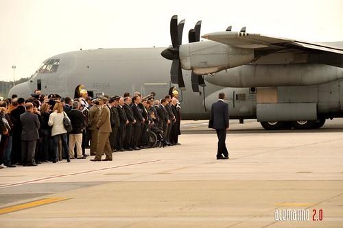 In Italia le salme dei due militari uccisi in Afghanistan