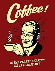 Retro Poster - Coffee!