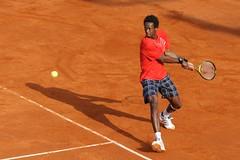[フリー画像] 運動・スポーツ, テニス, 黒人男性, 201005210100
