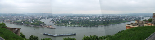 Rhine and Mosel rivers