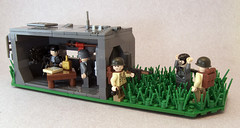 Bunker Assault (Titolian) Tags: world 2 us war lego wwii bunker german american troops assualt