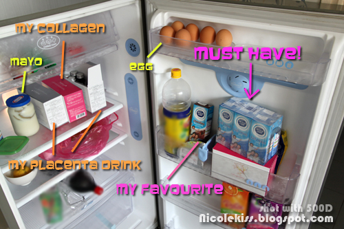 things to have in my fridge