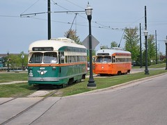 Chicago & Johnstown PCCs (streetcarbrad) Tags: kenosha pcc 4615 4606