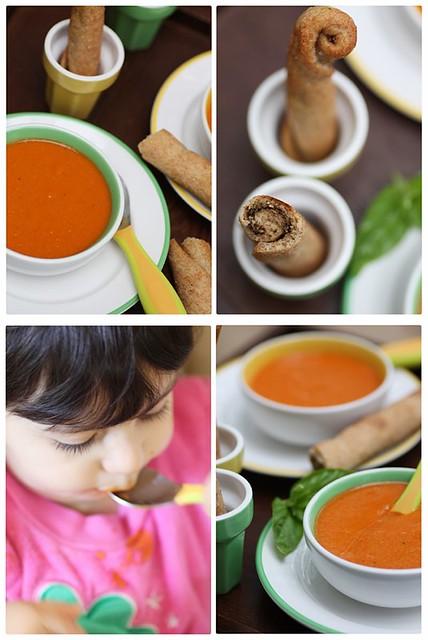 Tomato Corn Soup Quattro