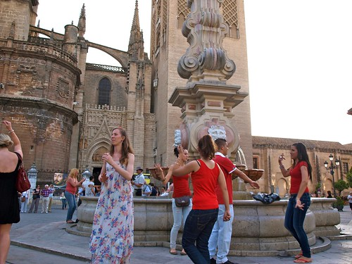 Flamenco flashmob Sevilla