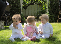 my triplets...