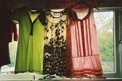 thinking of selling these (Adele M. Reed) Tags: light film window 35mm kodak may dresses 200 sell decisions nikonl35af