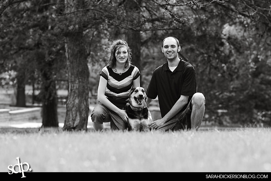 Topeka engagement photography Gage Park