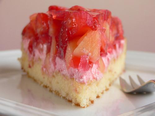 Erdbeer-Melonen-Torte
