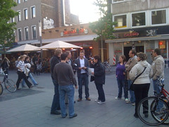 Twittagessen in Bochum: Barbara im Pressegespräch