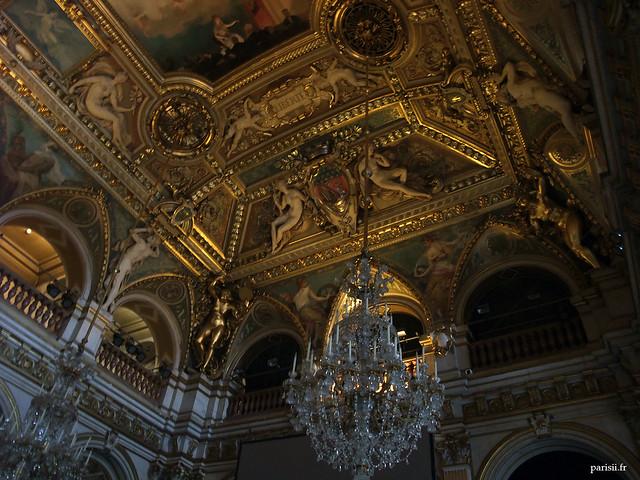 Plafond de la Salle des Fêtes