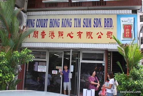Ming court