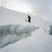 Cotopaxi - Gletscherspalte