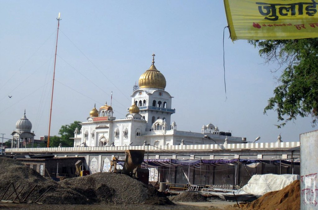 A Sikh temple