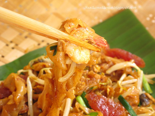 Penang Char Koey Teow (stir fried flat rice noodles)