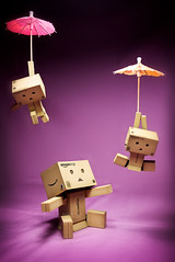 056/365:  Let The Air Carry Us! (Randy Santa-Ana) Tags: umbrella toys air danbo gf1 project365 danboard minidanboard minidanbo 365daysofdanbo danbopse