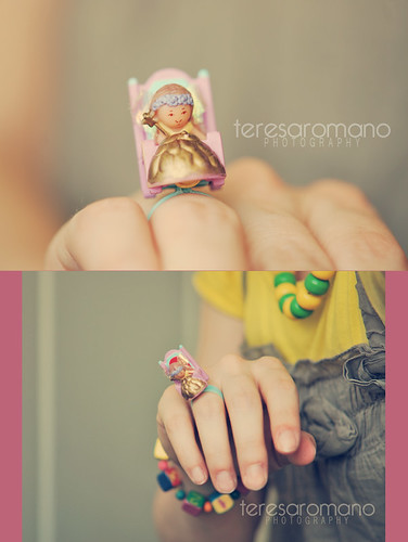 Polly pocket queen ring