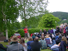 Mark Boyle (London Permaculture) Tags: festival wales llangollen darkmountain markboyle uncivilization freeconomy