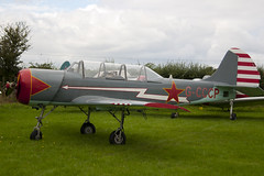 G-CCCP - 899404 - Private - Bacau Yak-52 - 060827 - Little Gransden - Steven Gray - CRW_4285