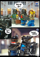 Bank Assault 2 (Shobrick) Tags: book amazing comic lego bank custom armory robbers gign brickarms brickforge