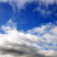 iPad wallpaper: Blue skies from Blue Sky by Christopher S. Penn, on Flickr