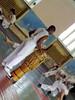 Marcelo tocando o atabaque