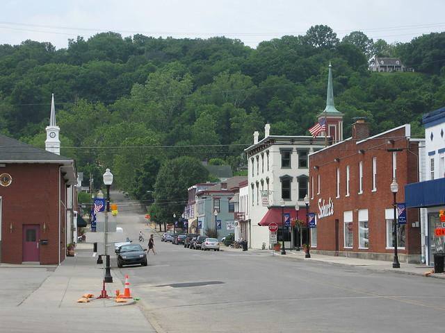Main St., Aurora, Indiana