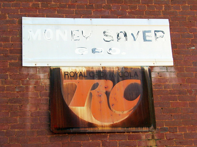Money Saver Grocery / RC signs