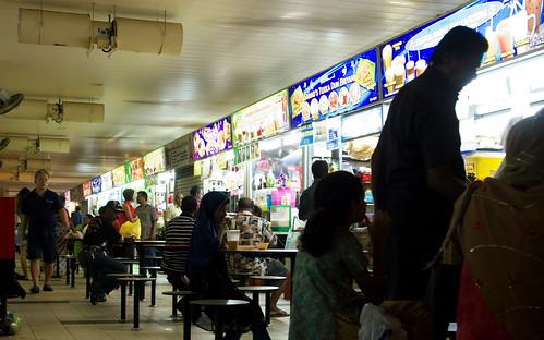 新加坡的熟食中心