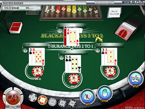 Vegas Rules Multi-Mains Blackjack