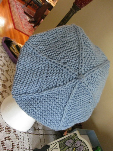 Cabled Brimmed Tam
