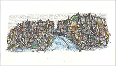 Doodle City (alesmotyl) Tags: illustration drawing scrawl doodles urbandrawing drawcity