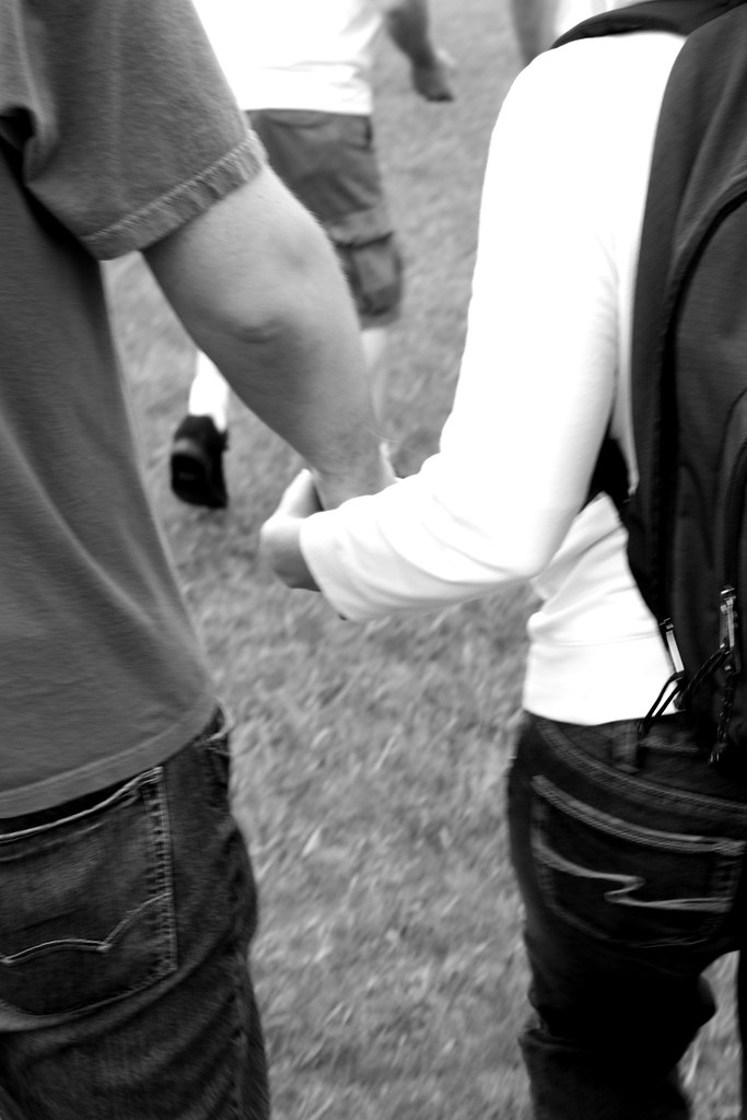 holding hands black and white photography. Holding Hands - Black & White. Sure it looks good in color,