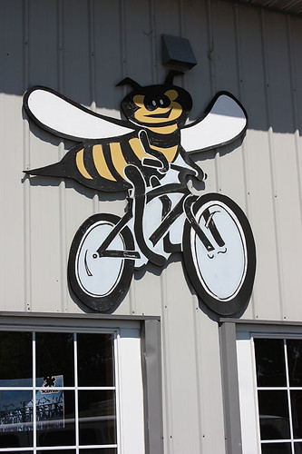 Bee on a Bike