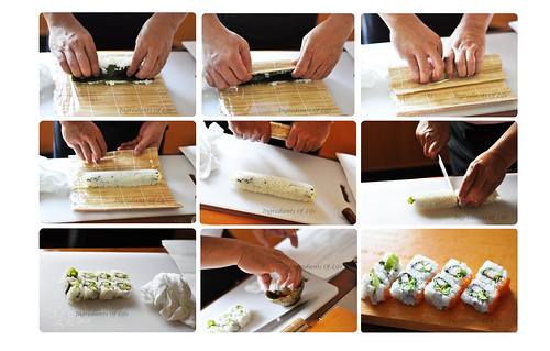 How to Rolling the Sushi